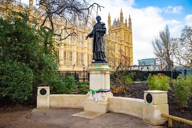 statue of emmeline pankhurst granted grade ii listed status