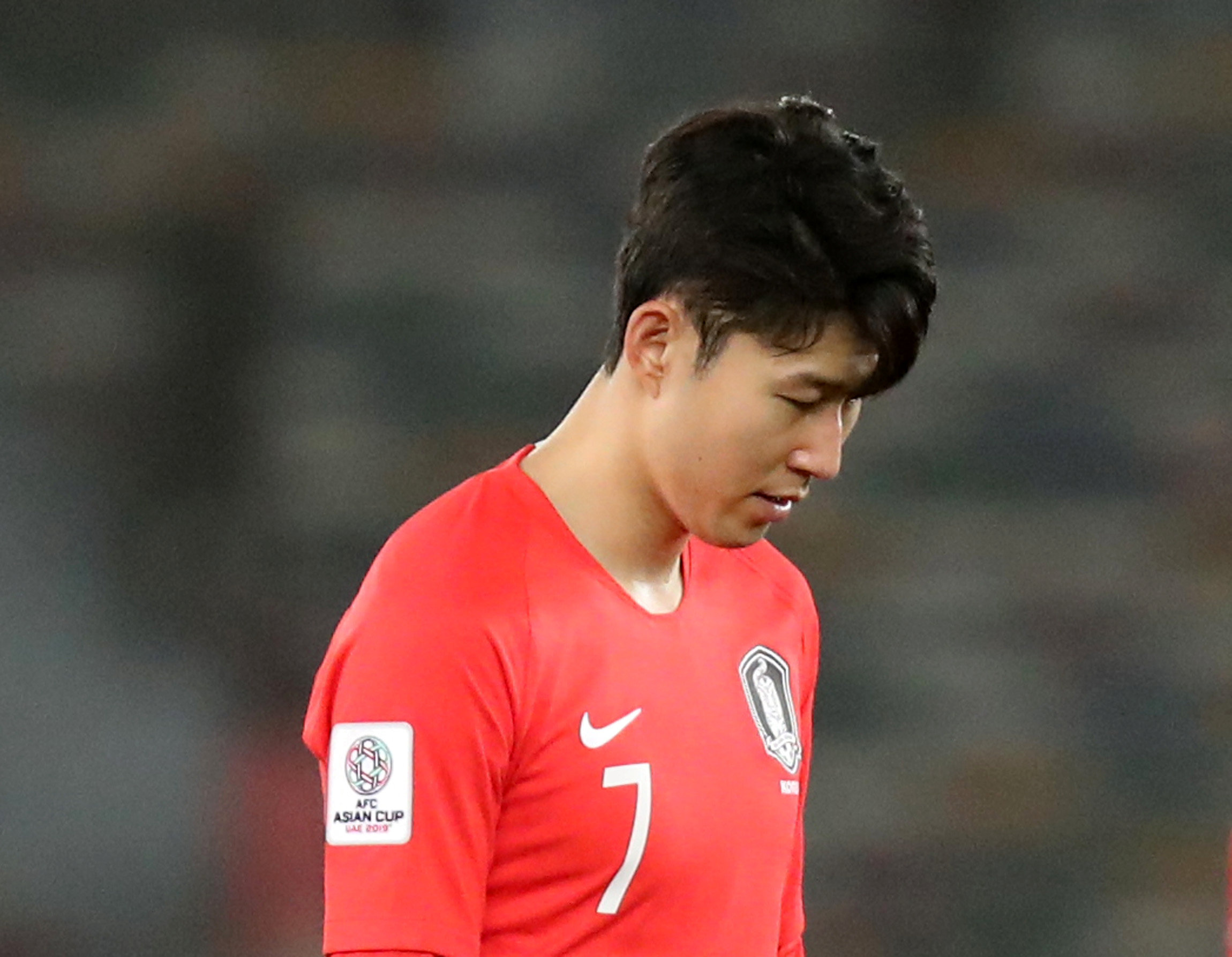 Son Heung-min and South Korea made an earlier than expected exit from the Asia Cup. Picture: Action Images