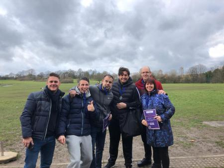 Michael Watts, Daniel Watts, Nick Storan, James Argent, Russell Tucker and Lisa Tucker