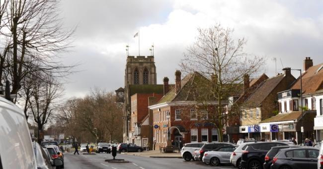 Businesses on Epping High Street could receive a rate-relief