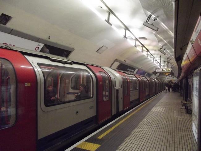 Central line is experiencing some minor delays eastbound this morning