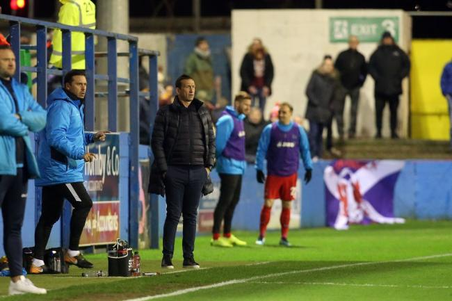 Justin Edinburgh praised the impact that the substitutes had in Leyton Orient's draw with FC Halifax Town. Picture: Simon O'Connor