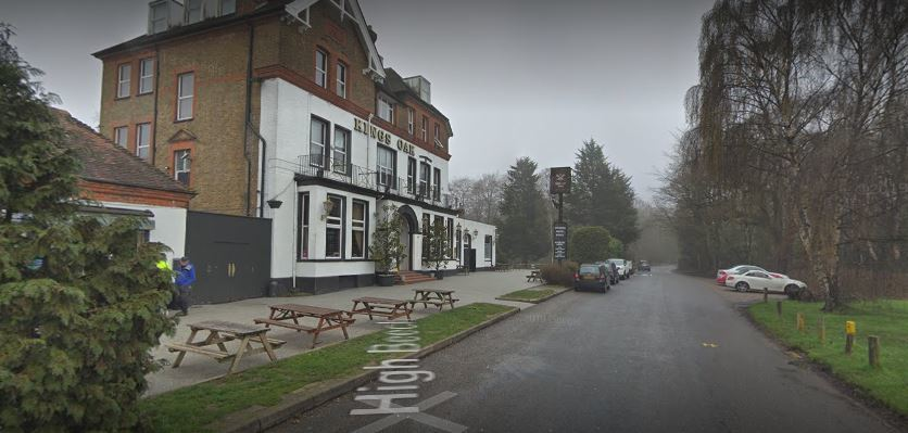 The man was found dead near the Kings Oak Pub