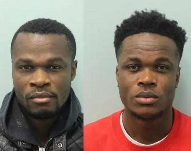 Brothers Bonaventure and Emmanuel Chukwuka [Photo credit: Metropolitan police]