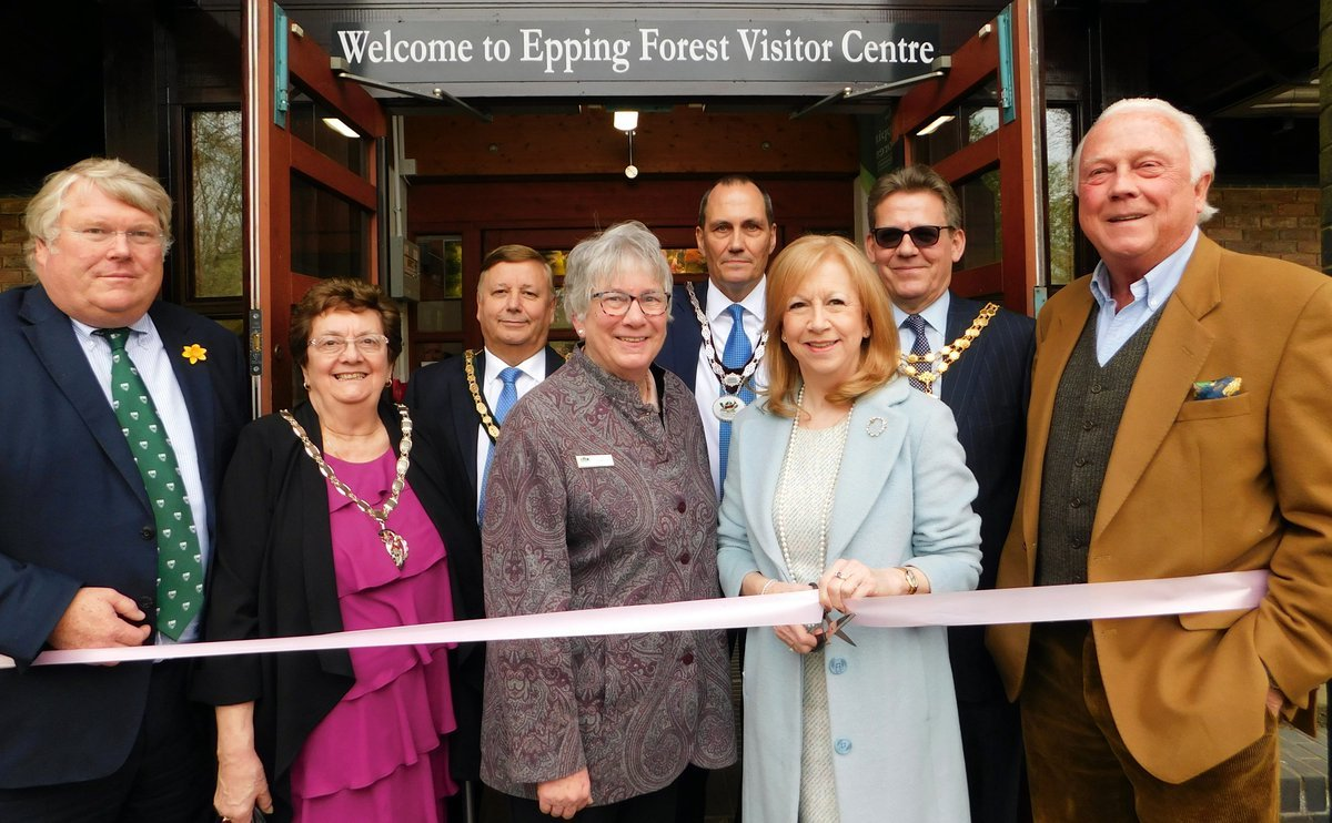 Dame Eleanor Laing was given the honours at the ribbon cutting ceremony