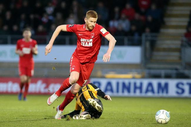 Matt Harrold was the hero for Leyton Orient as they came back to draw 2-2 with FC Halifax Town. Picture: Simon O'Connor
