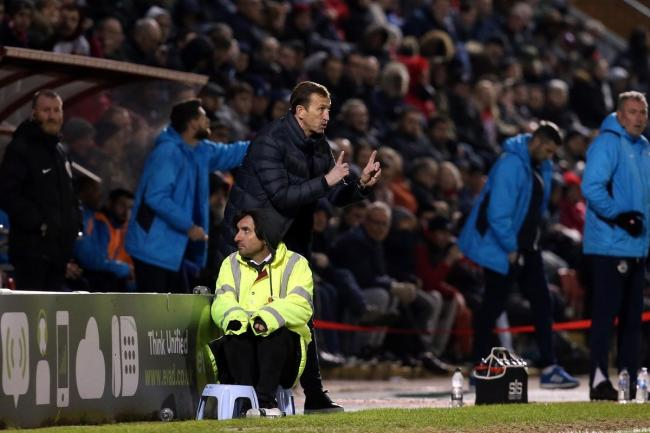 Justin Edinburgh is expecting a tough game as Leyton Orient face Sutton United this weekend. Picture: Simon O'Connor