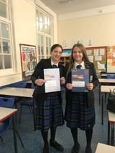 Year 10 pupils Mia and Charlotte will take part in Jack Petchey's Speak Out Challenge