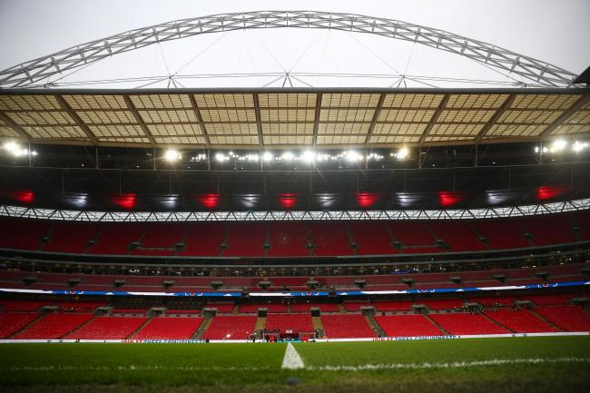 Wembley Stadium prior to England's Euro 2020 Qualifier against Czech Republic. Picture: Action Images