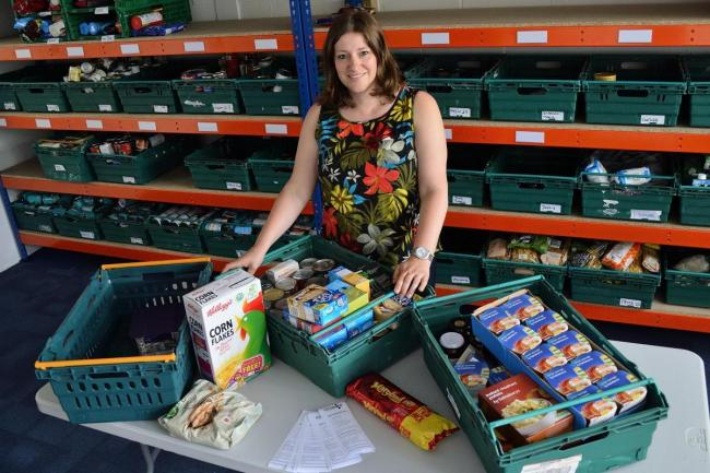 Heather Scholer, manager of Epping Forest Foodbank, will celebrate six years since opening on Saturday, June 22