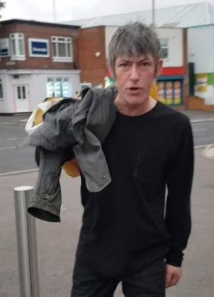 Did  you know or saw this man outside Sainsbury's on Church Hill, Loughton on Sunday, May 25